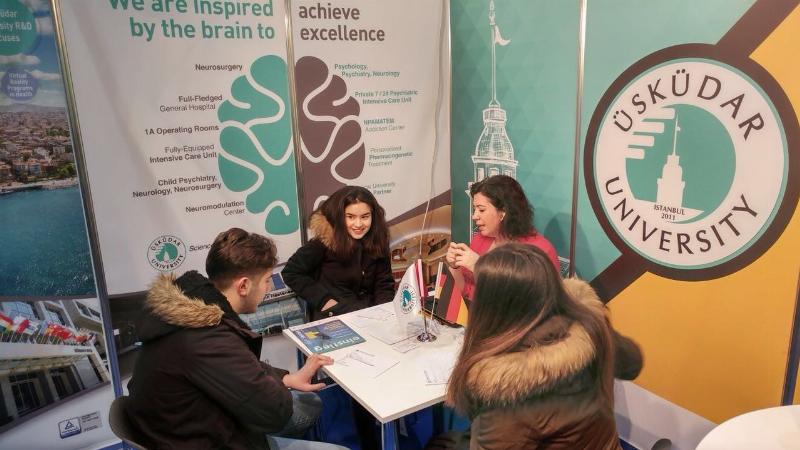 Üsküdar Üniversitesi, Almanya'da Türk öğrencilerle buluştu 2