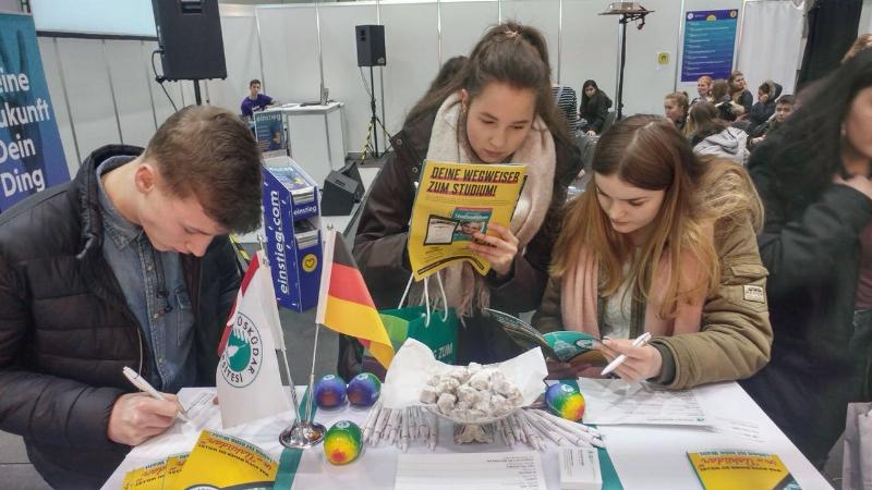 Üsküdar Üniversitesi, Almanya'da Türk öğrencilerle buluştu 3