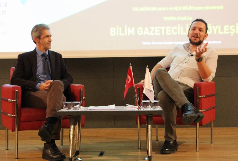 Bilim gazeteciliği Üsküdar Üniversitesinde irdelendi