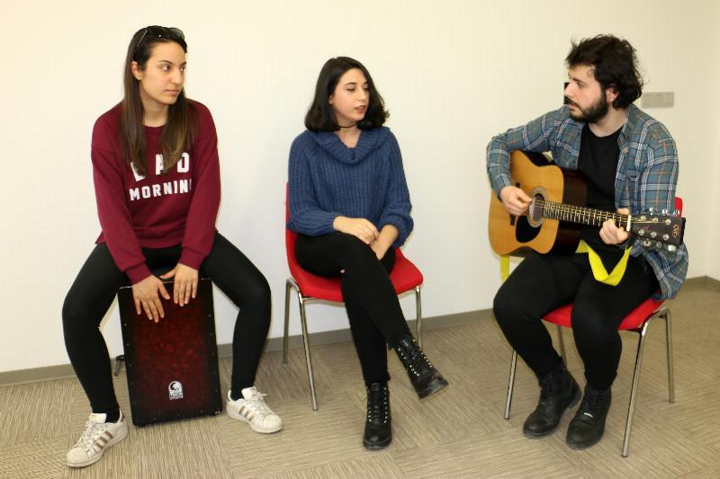 Üsküdar Üniversitesi öğrencilerinin 8 Mart etkinliği hazırlıkları devam ediyor