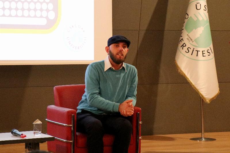 Batuhan Dedde Üsküdar Üniversitesi'nde öğrencilerle buluştu