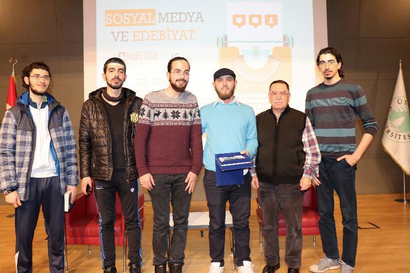 Batuhan Dedde Üsküdar Üniversitesi'nde öğrencilerle buluştu 2