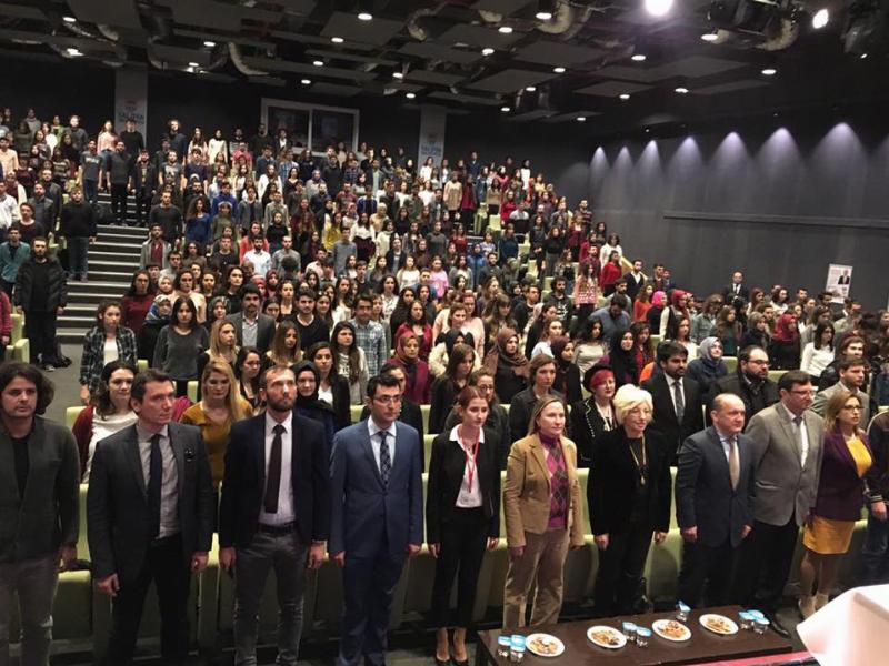 Prof. Dr. Sevil Atasoy Yalova Üniversitesi öğrencileriyle buluştu