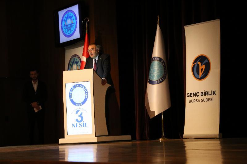 Prof. Dr. Nevzat Tarhan, Uludağ Üniversitesi öğrencileriyle iki konferansta buluştu 2