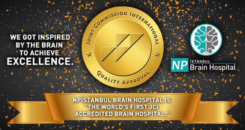 """Uygulama ortağımız NPİSTANBUL Beyin Hastanesi, """"Dünyanın ilk Akredite Beyin Hastanesi"""" oldu 2"""