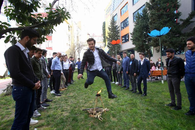 """Üsküdar Üniversitesi'nde """"Bahar Bayramı"""" coşkusu"""