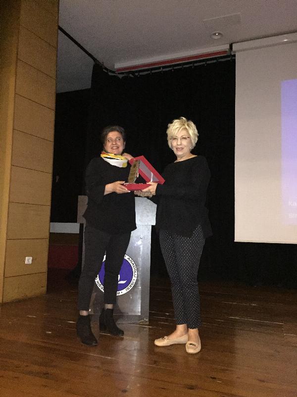 Prof. Dr. Sevil Atasoy İstanbul'da öğrencilerle buluştu
