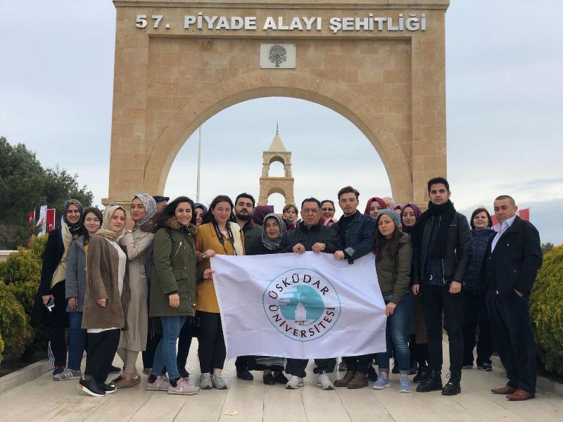 Üsküdar Üniversitesi öğrencilerinden Çanakkale ve Uludağ gezisi
