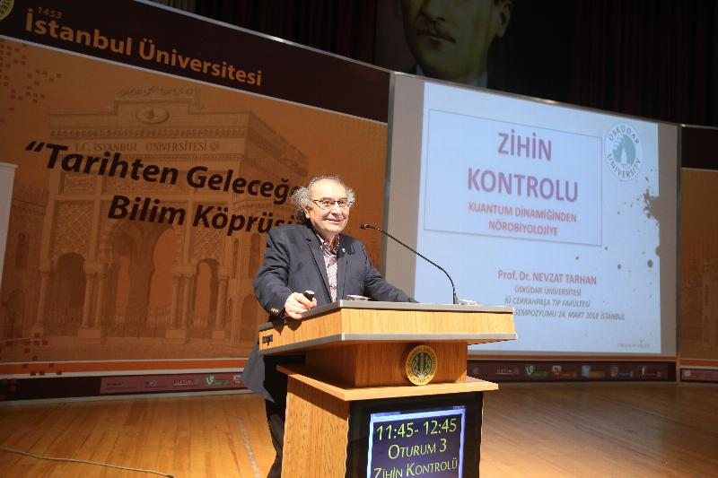 """Prof. Dr. Nevzat Tarhan: """"Zihin kontrolü bilimin menzili içine girmiştir"""" 2"""