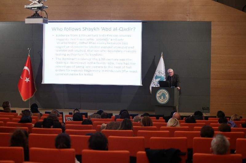 Prof. Bruce Lawrence gave a lecture at Üsküdar University 3