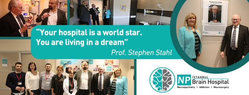 Your hospital is a world star. You are living in a dream""