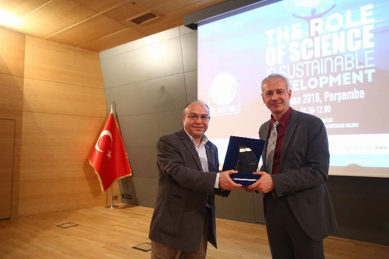 Dr. Max Paoli who directs the world science policy was in Üsküdar 3