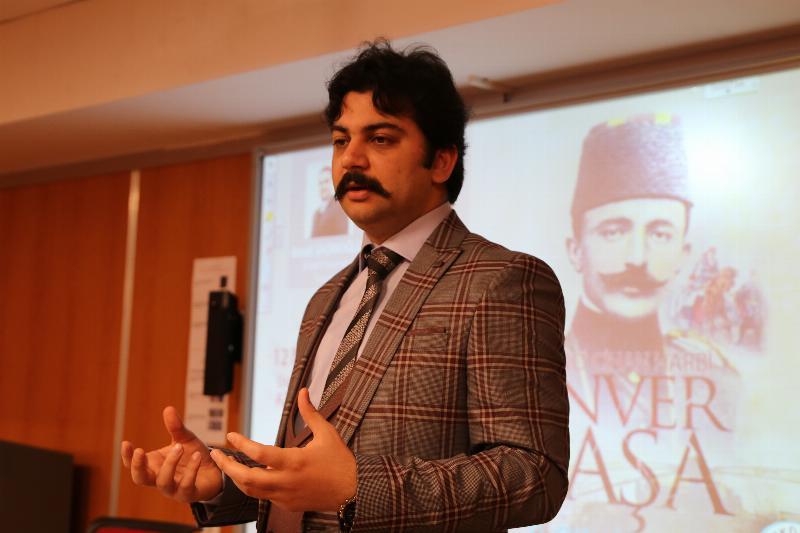 Enver Paşa Üsküdar Üniversitesinde konuşuldu