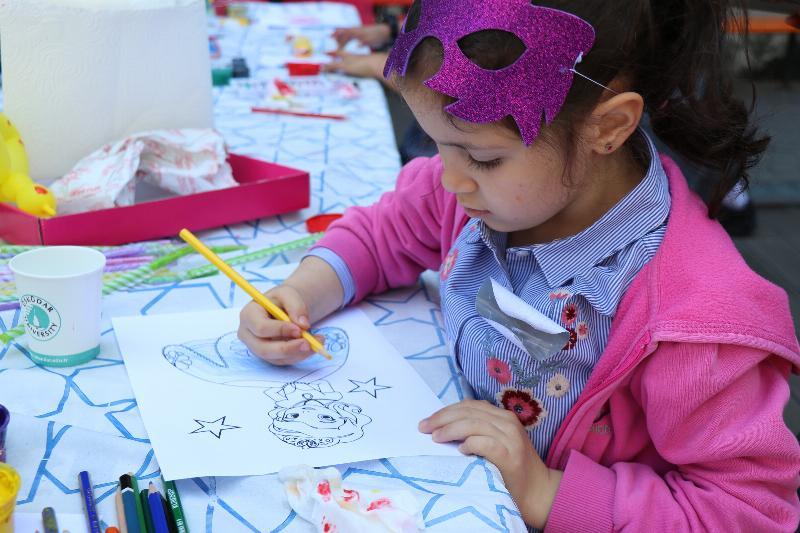 Üsküdar Üniversitesi'nde çocuk şenliği gerçekleştirildi 2