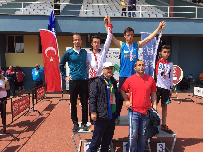 Öğrencimiz Fatih Bayer Avrupa Atletizm Şampiyonasına hazırlanıyor