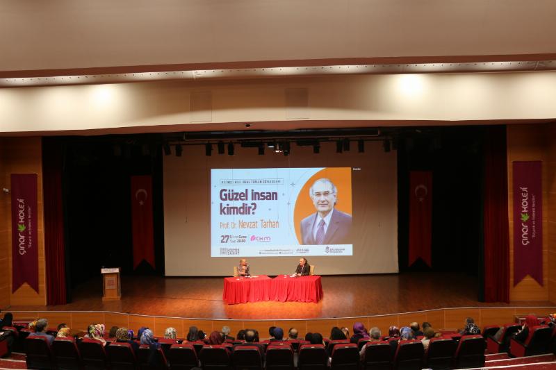 """Prof. Dr. Nevzat Tarhan: """"Deist gibi görünen genç sorgulayan gençtir"""""""