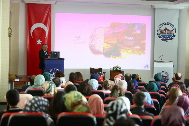 Tarhan öğrencilere 'Algı yönetimi ve psikolojik savaş'ı anlattı