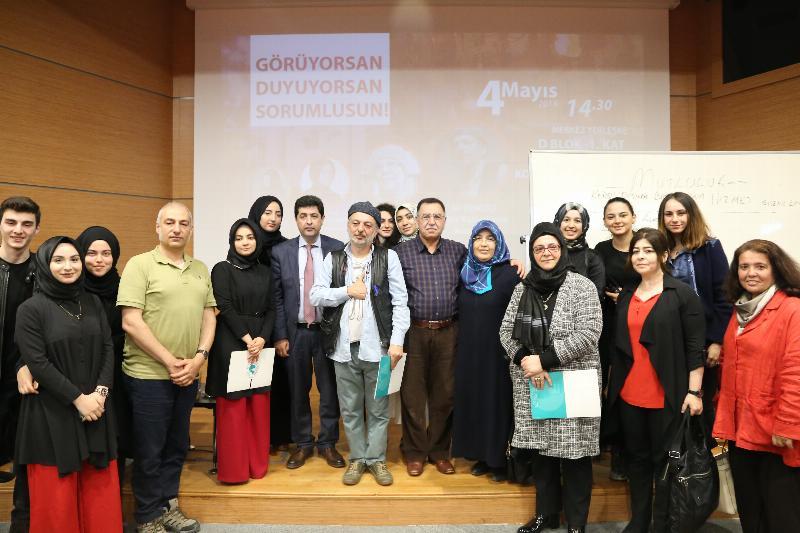 """Üsküdar Üniversitesinde """"İyi İnsan Olmak"""" konuşuldu 4"""