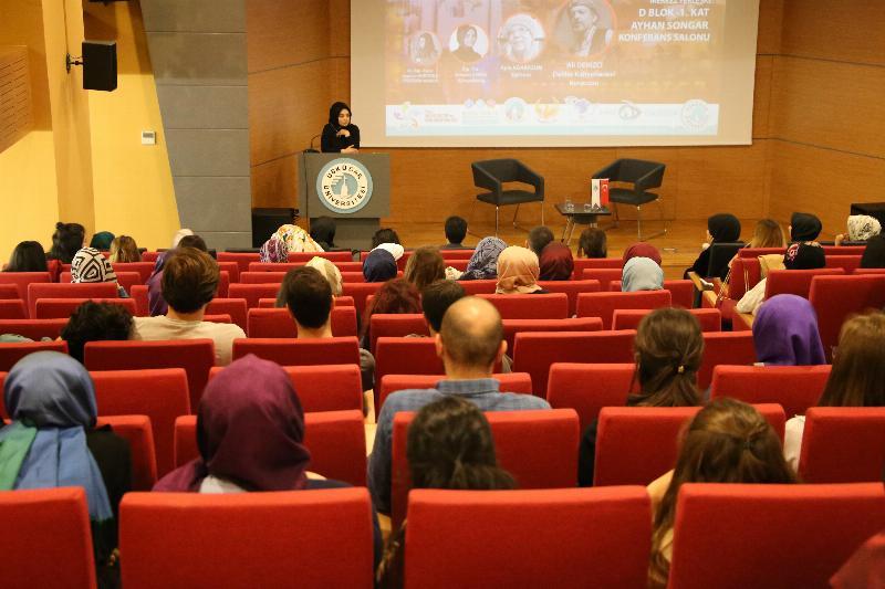 """Üsküdar Üniversitesinde """"İyi İnsan Olmak"""" konuşuldu 2"""