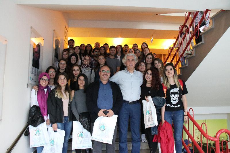 Süleyman Demirel Üniversitesi öğrencileri Üsküdar Üniversitesini ziyaret etti 2