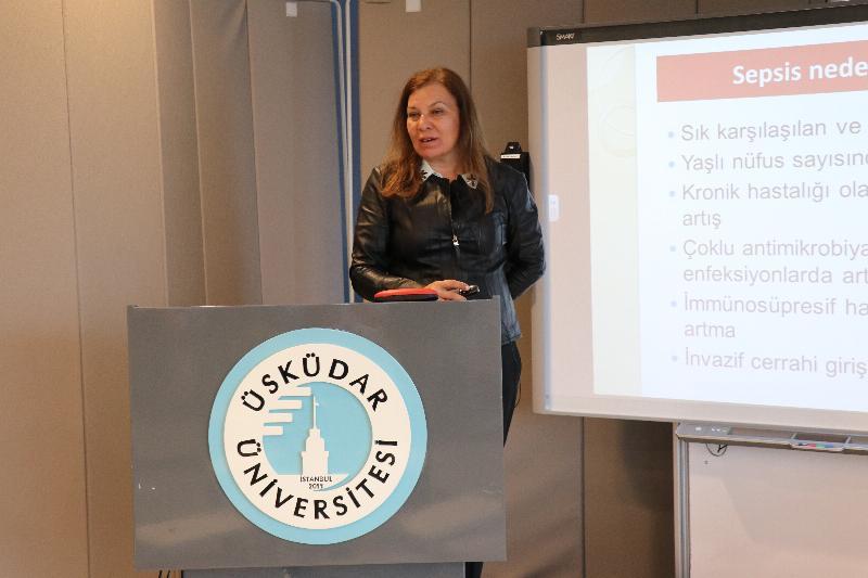 En ölümcül hastalık sepsis Üsküdar'da konuşuldu 3