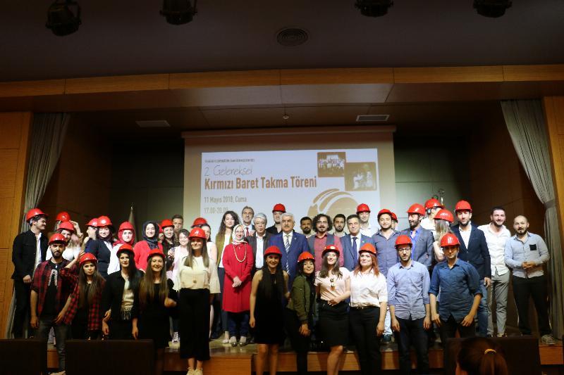 2. Geleneksel kırmızı baret takma töreni gerçekleştirildi
