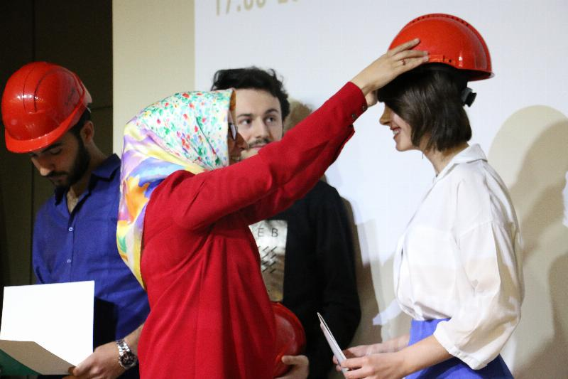 2. Geleneksel kırmızı baret takma töreni gerçekleştirildi 3