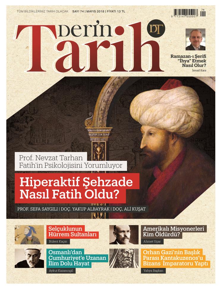 Prof. Dr. Nevzat Tarhan Fatih'in psikolojisini Derin Tarih'e anlattı