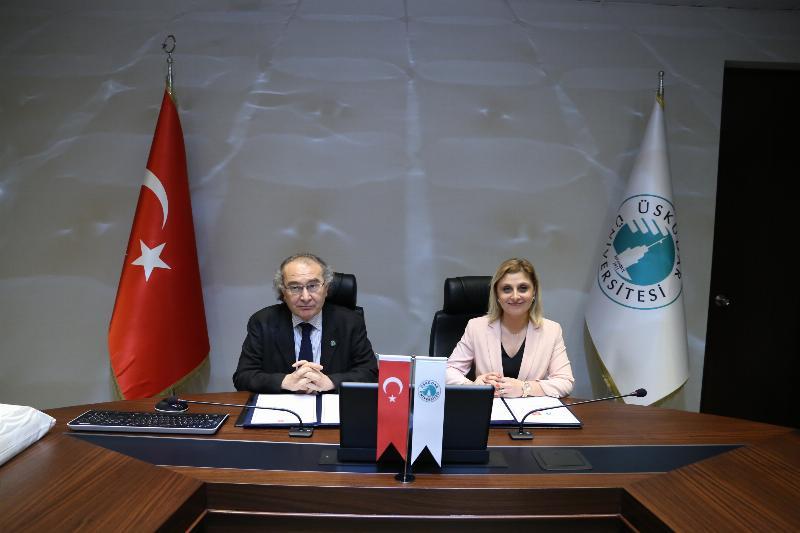 Üsküdar Üniversitesi ile Mektebim Okulları arasında iş birliği 2