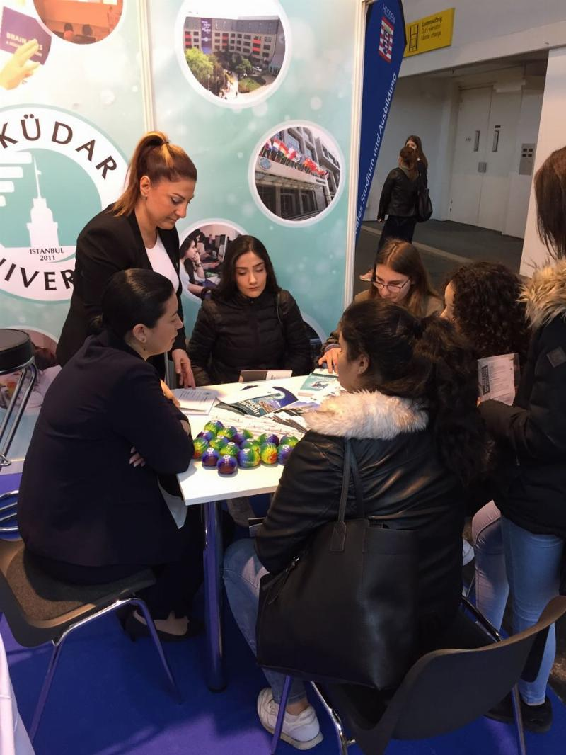Üsküdar University meets with the prospective students in Germany
