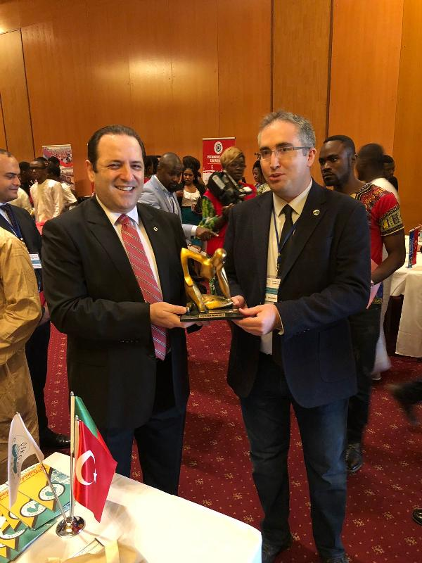 Üsküdar University attracted great attention in Cameroon 2