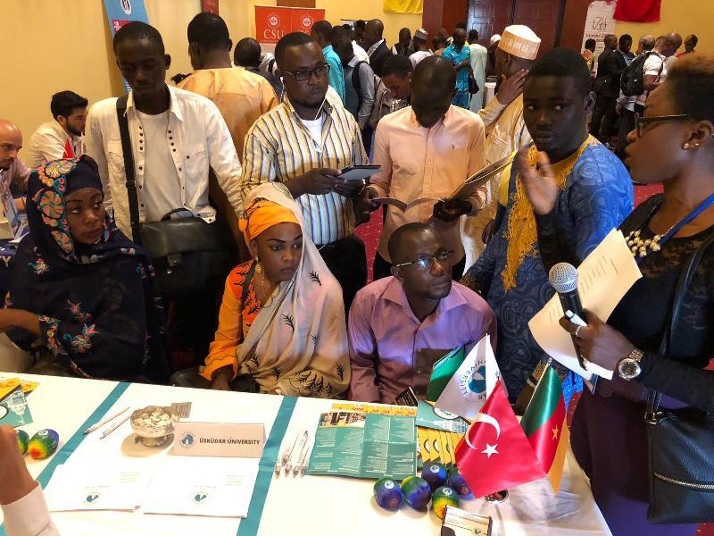 Kamerun'da Üsküdar Üniversitesine yoğun ilgi