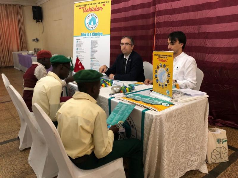 Üsküdar University attended Study in Turkey Fair in Nigeria 2