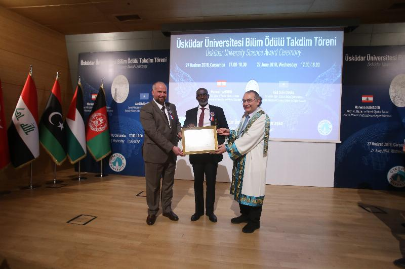 The Science Awards presented to Lebanon and Somali Ministers of Education 4