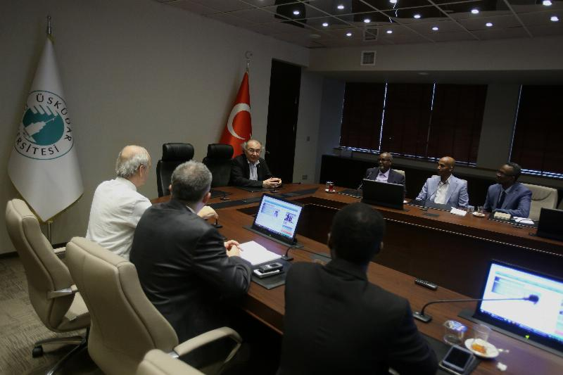 Somali University paid a visit to the President of Üsküdar University