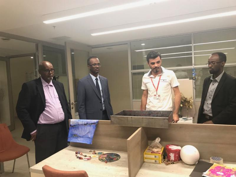 Somali University paid a visit to the President of Üsküdar University 4