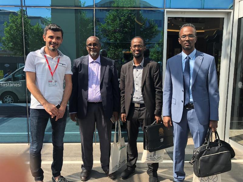 Somali Üniversitesi Rektörü Prof. Mohammed Ahmet Moalim NPİSTANBUL Beyin Hastanesini Ziyaret Etti 4