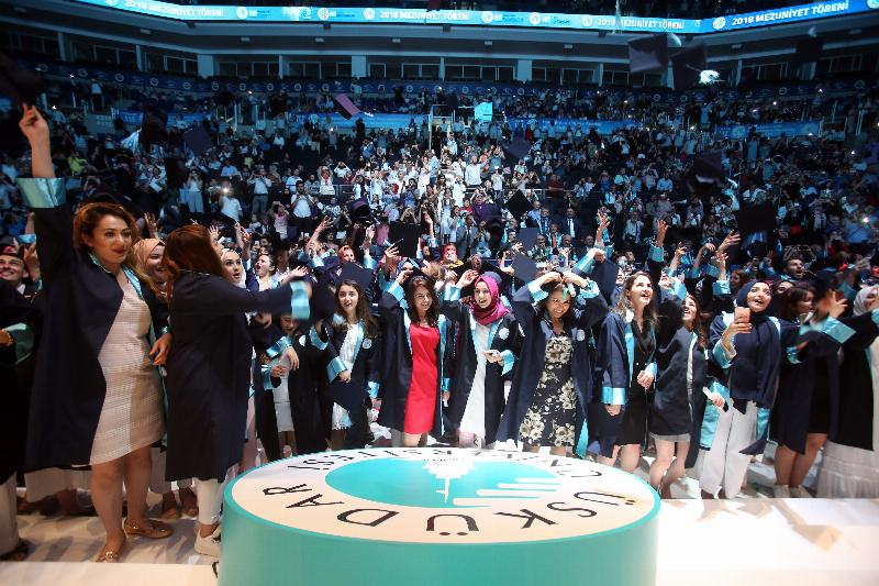 Üsküdar University's Celebration of the 5th Graduation Ceremony 7