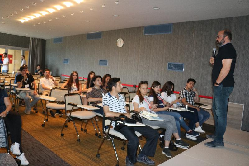 Azerbaijani students visited Üsküdar University 2