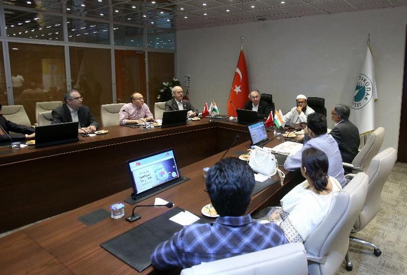Üsküdar- India cooperation on education and health
