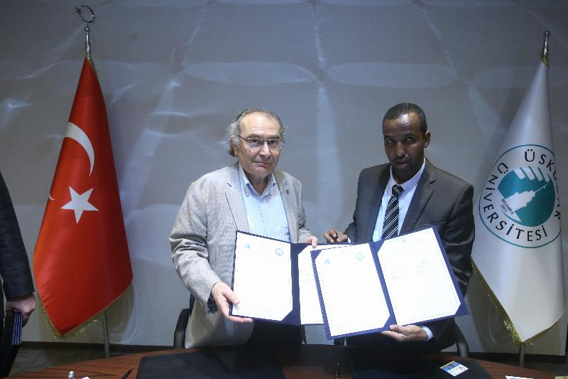 Üsküdar University signed a Cooperation Agreement with Somali University