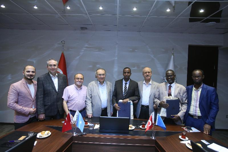 Üsküdar University signed a Cooperation Agreement with Somali University 3