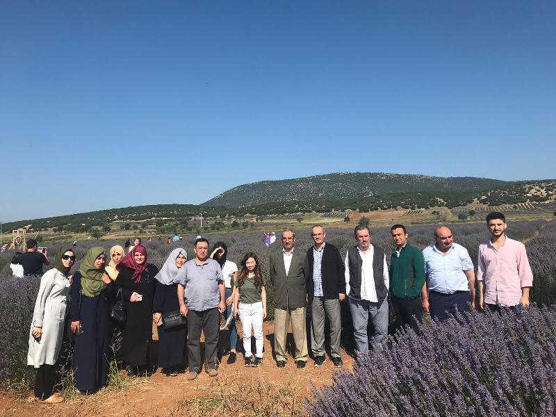 Üsküdar Üniversitesi güller diyarına gezi düzenledi