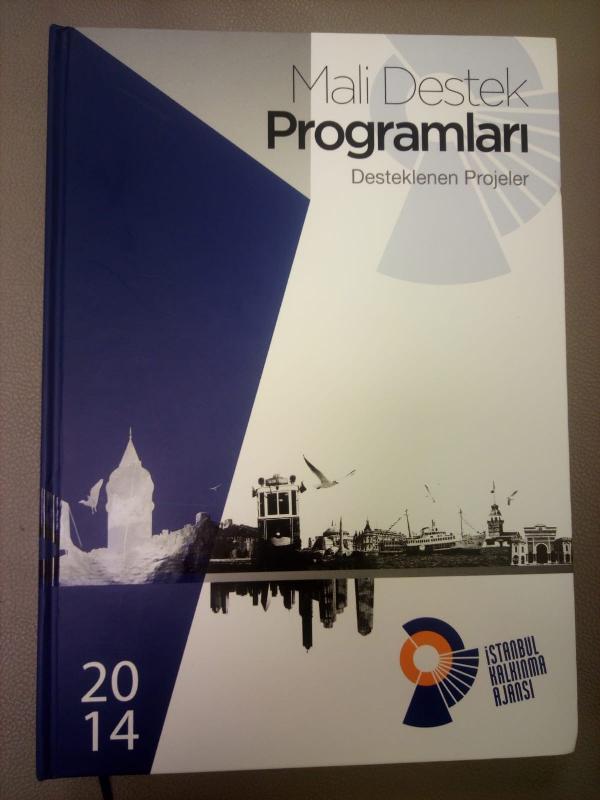 Üsküdar Üniversitesi İstanbul Kalkınma Ajansı tanıtım kitabında 2