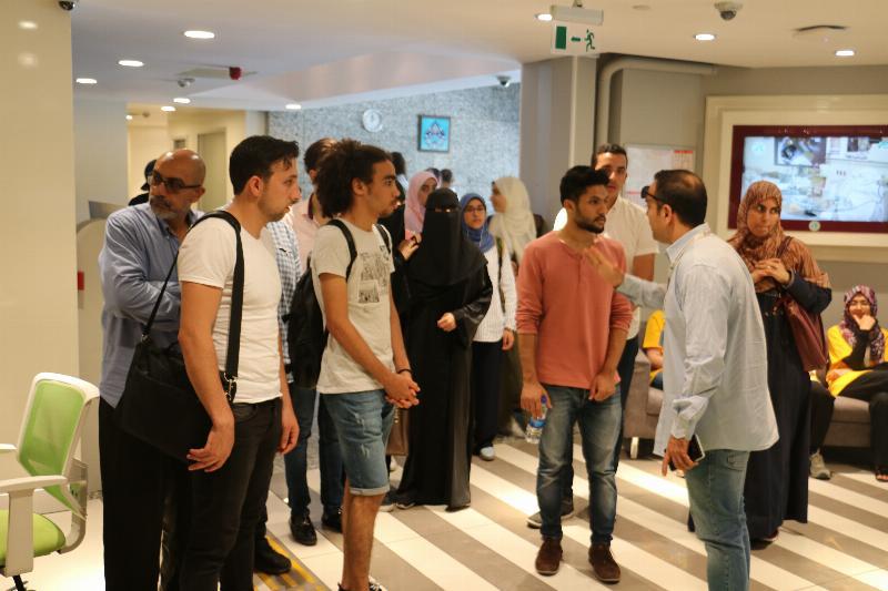 Uluslararası öğrencilerden Üsküdar Üniversitesine ziyaret