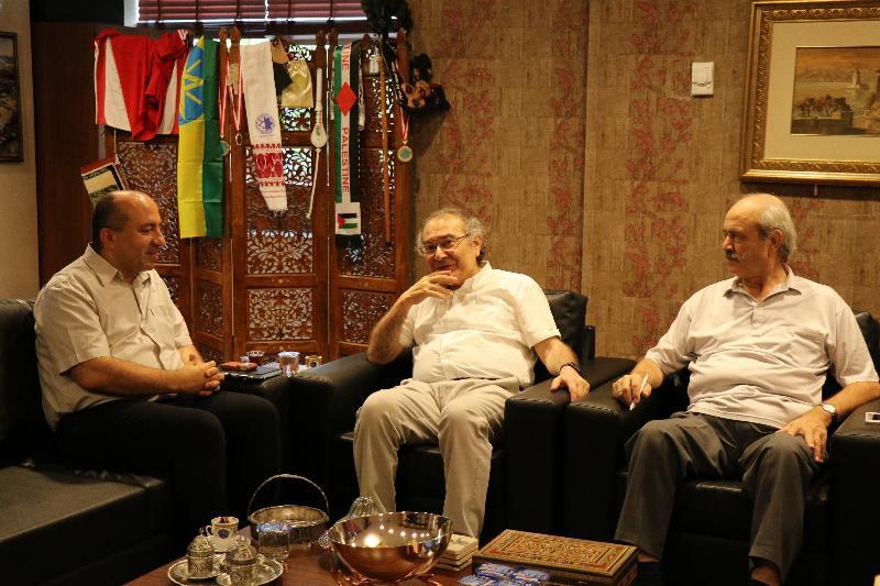 Prof. Dr. Baki Akgül, Üsküdar Üniversitesini Ziyaret Etti