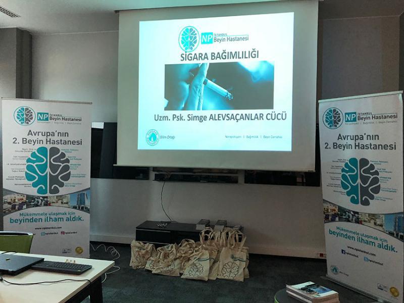 NPİSTANBUL Beyin Hastanesi IBM Genel Müdürlük çalışanlarına Sigara Bırakma konusunda seminer verdi 3