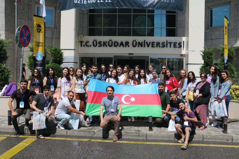 Azerbaijani students visited Üsküdar University