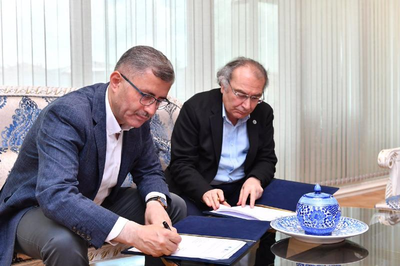 A Cooperation Protocol Signed Between Üsküdar University and Local Administration 2