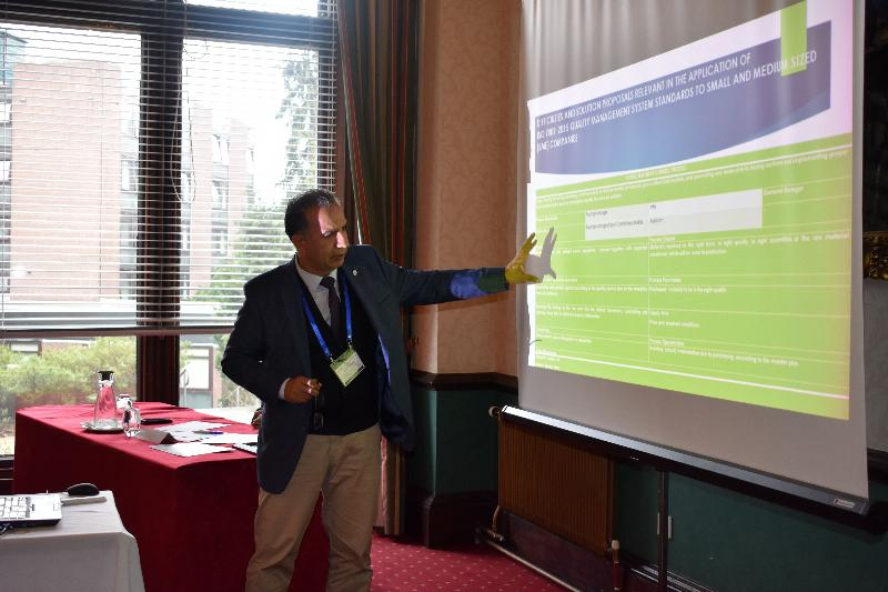 Dr Faculty Member Hasan Çiçek attended a conference in Scotland